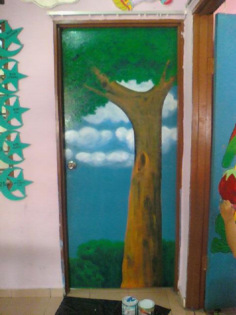 Making Mural